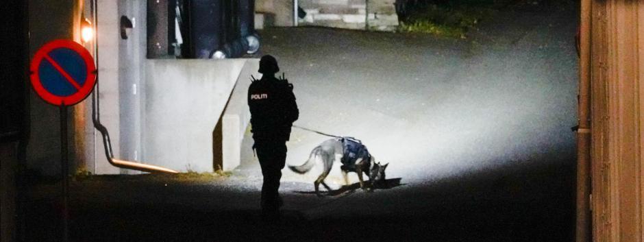 Un agente de policía