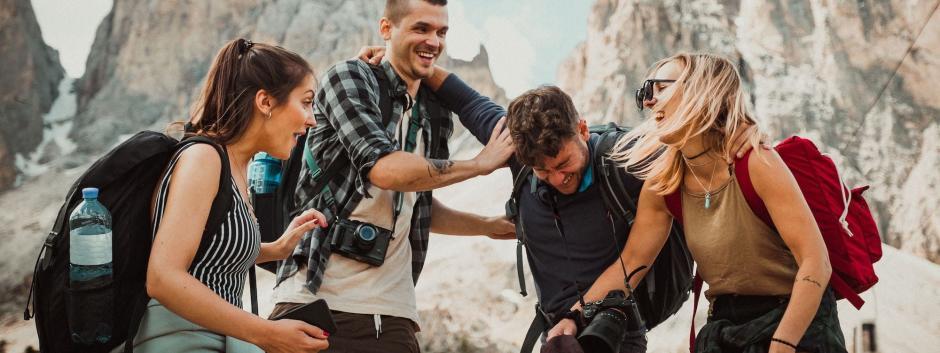 Viajes de jóvenes en grupo