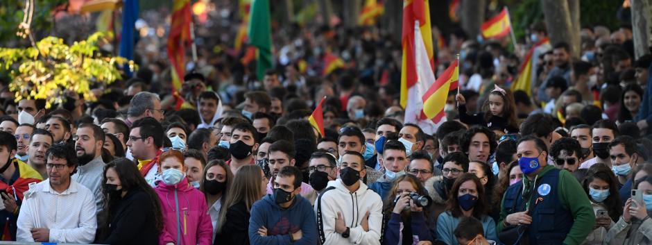 Las calles de Madrid se llenaron para presenciar el desfile después de que el año pasado tuviera que cancelarse