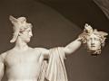 Perseo con la cabeza de Medusa
