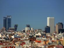Imagen del 'skyline' de Madrid
