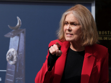 La escritora estadounidense Gloria Steinem