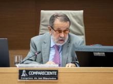 El Defensor del Pueblo en funciones, Francisco Fernández Marugán