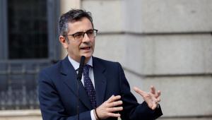 El ministro de Presidencia, Félix Bolaños