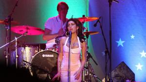 La cantante durante uno de sus shows.