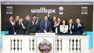 Wallbox N.V. (NYSE WBX) Rings the Closing Bell®  The New York Stock Exchange welcomes Wallbox N.V. (NYSE WBX), today, Monday, October 4, 2021, in celebration of its first day trading on the NYSE. To honor the occasion, co-founders, Enric Asunción, CEO and Eduard Castañeda, CPO, joined by Chris Taylor, Vice President, NYSE Listings and Services, rings The Closing Bell®.   Photo Credit: NYSE