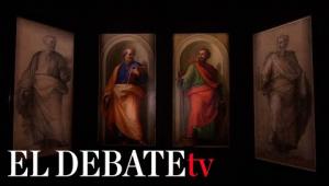 Los Museos Vaticanos exponen cuadros de Rafael hasta ahora no visibles al público