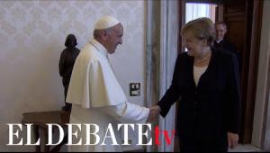 Ángela Merkel viaje a Roma para despedirse del Papa Francisco tras concluir su etapa como canciller alemana
