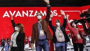 Sánchez en el 40º Congreso del PSOE