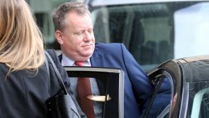 Lord David Frost llega a Bruselas