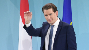 Sebastian Kurz, ahora infame canciller austriaco