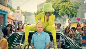 """Imagen del videoclip de J Balvin censurado por YouTube, """"Perra""""."""