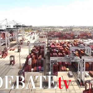 El colapso en el puerto de Los Ángeles preocupa a EE.UU.