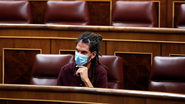 Alberto Rodríguez en el Congreso