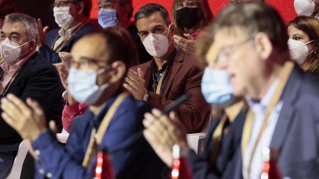 Pedro Sánchez durante el 40º Congreso del PSOE