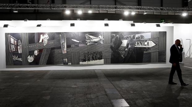 """El """"Guernica"""" de Ibarrola."""