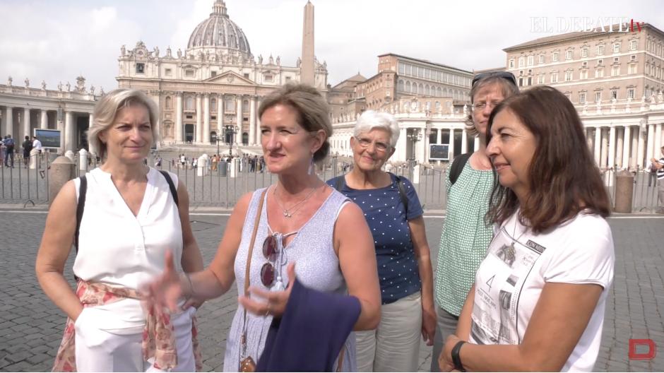 Pereginos en el Vaticano