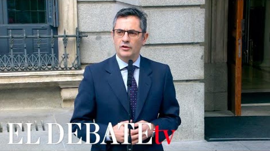 El ministro Bolaños anuncia que llamará al PP esta tarde después de que el líder de los populares propusiera a Sánchez en el Congreso que dejen a un lado sus diferencias sobre el CGPJ y avancen en la renovación del resto de órganos constitucionales