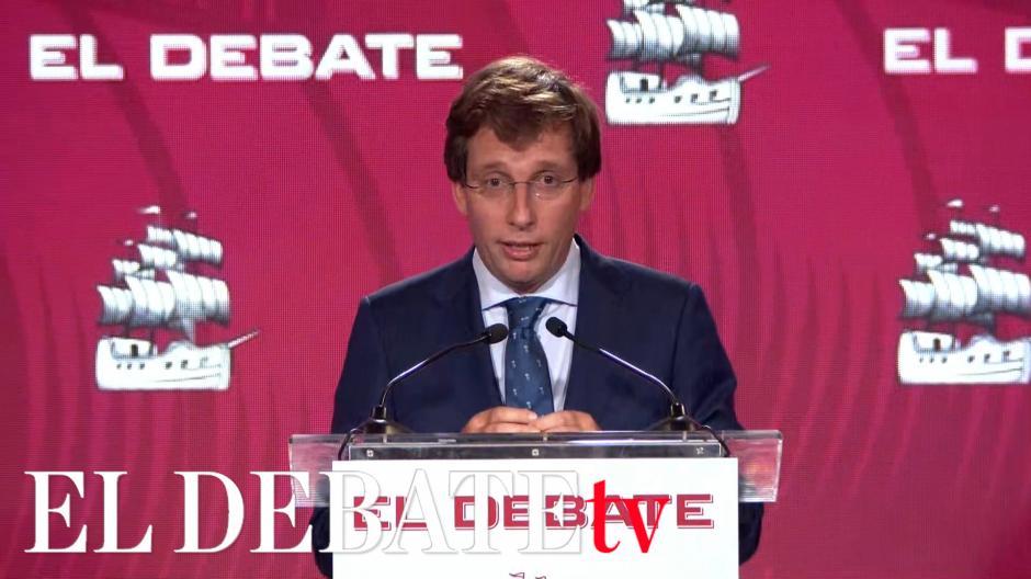 Discurso de Martínez Almeida en la presentación de El Debate