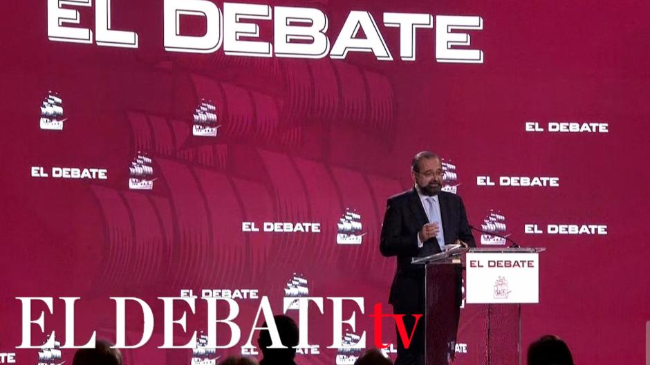 Discurso de Bullón de Mendoza en la presentación de El Debate