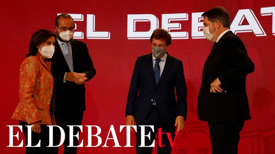Las mejores intervenciones del acto de presentación de El Debate