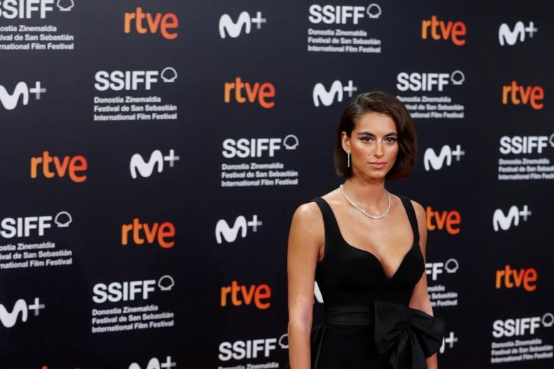 Begoña Vargas en el Festival de Cine de San Sebastián
