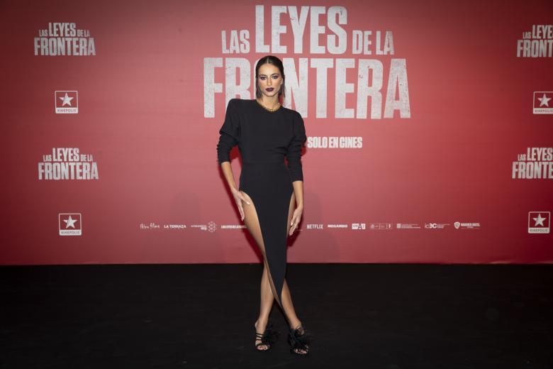 Begoña Vargas en la premiere de 'Las Leyes de la Frontera'