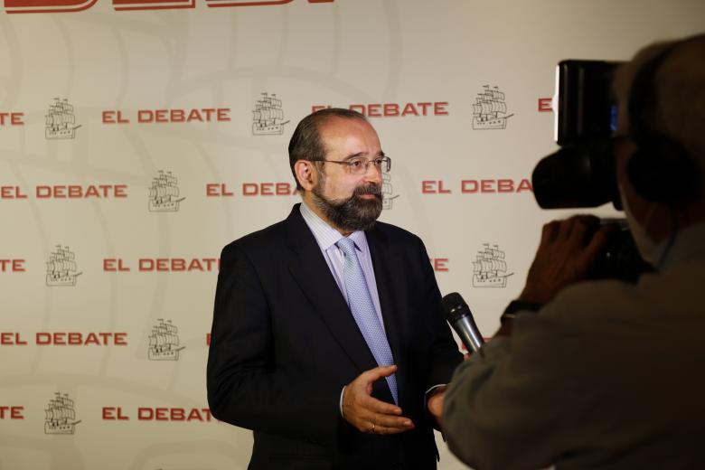Presidente de Asociación Católica de Propagandistas y presidente de El Debate, Alfonso Bullón de Mendoza