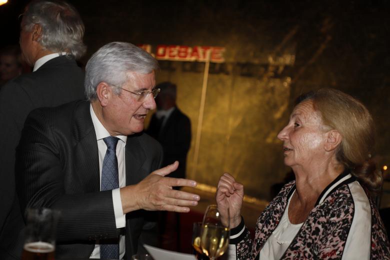 José Masip, vicepresidente de la ACdP, a la izquierda