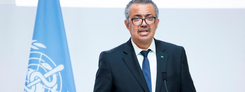 Adhanom Ghebreyesus, Director General de la OMS