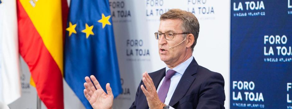 Núñez Feijóo en el debate sobre la financiación de las autonomías