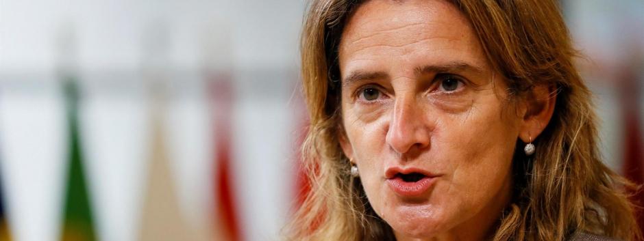 La vicepresidenta tercera y ministra de Transición Ecológica, Teresa Ribera