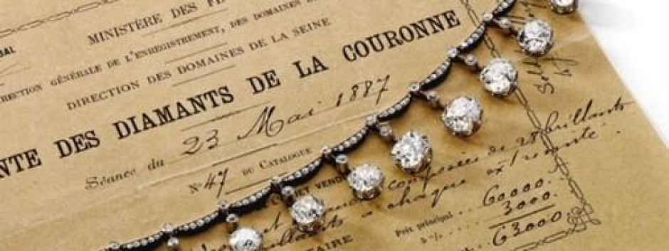 Diamantes de la Corona francesa adquiridos en subasta por Tiffanny