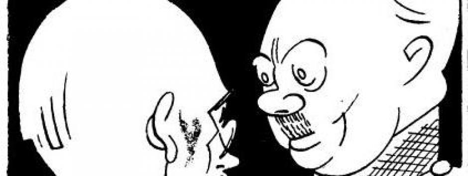 Ilustración de K-Hito después de las elecciones de1936