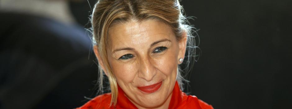 La Ministra en un evento de Forbes en 2021.