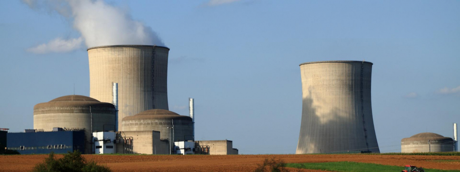 Planta de energía nuclear en Francia