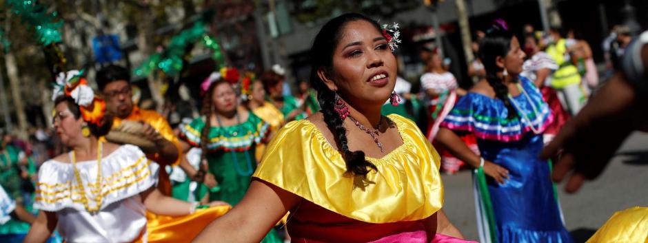 Celebración del Día de la Hispanidad en Barcelona