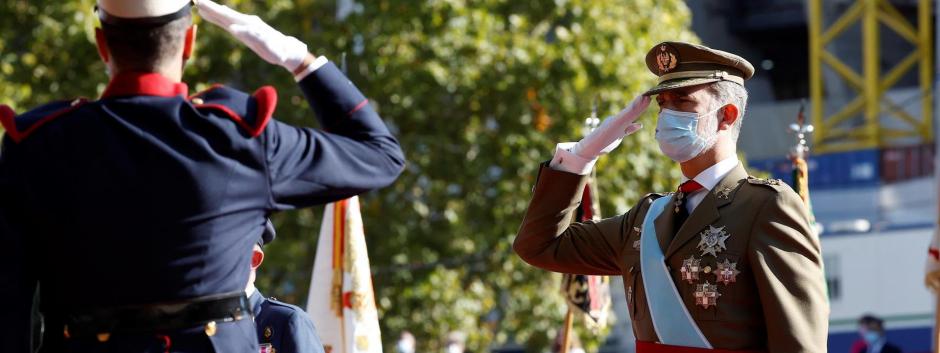 El desfile militar del 12 de octubre de 2021 registró la cuota de pantalla más alta desde 2009