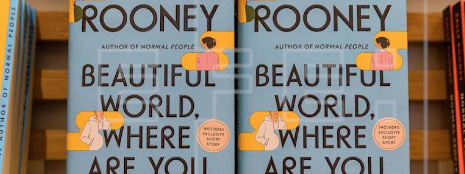 La novela de Sally Rooney en un escaparate