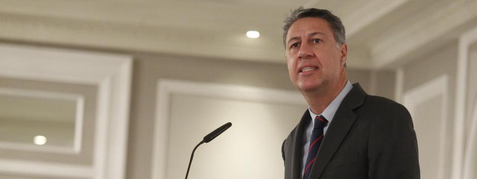 El alcalde de Badalona y expresidente del PP catalán, Xavier García Albiol, en 2017