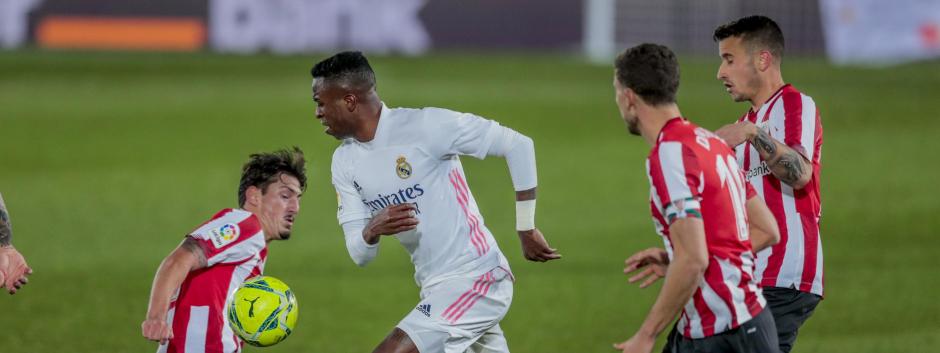 El Real Madrid-Athletic es uno de los encuentros suspendidos por el CSD.