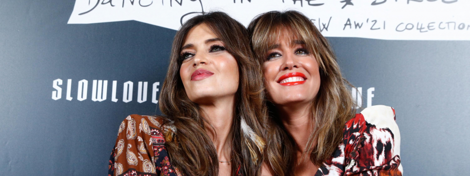 Journalists Sara Carbonero and Isabel Jimenez during Slow Love brand event in Madrid on Wednesday, 13 October 2021.
