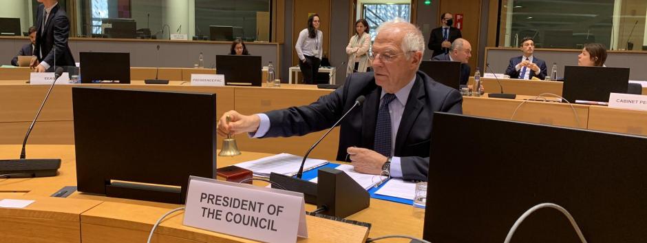 Josep Borrell, Bruselas