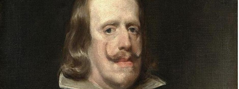 Retrato de Felipe IV, por Diego Velázquez.
