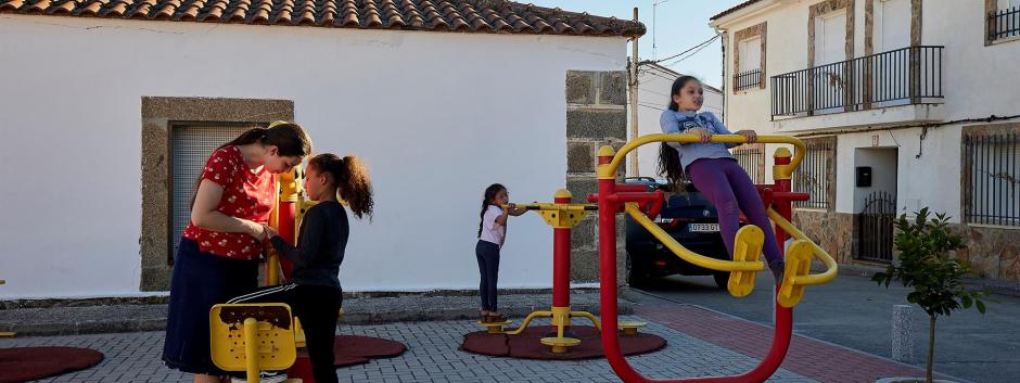Una familia madrileña con cinco hijos en Talavera de la Reina