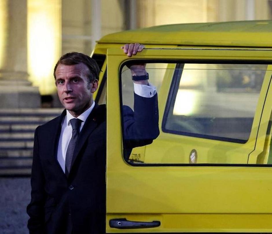 Macron, en una imagen reciente
