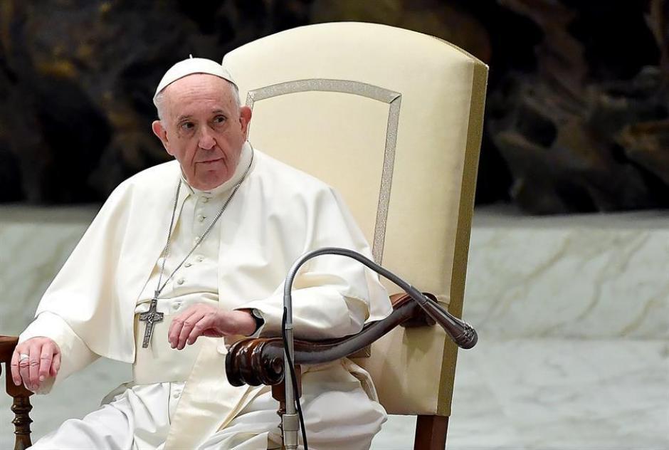 Papa Francisco en las recién retomadas Audiencias Generales