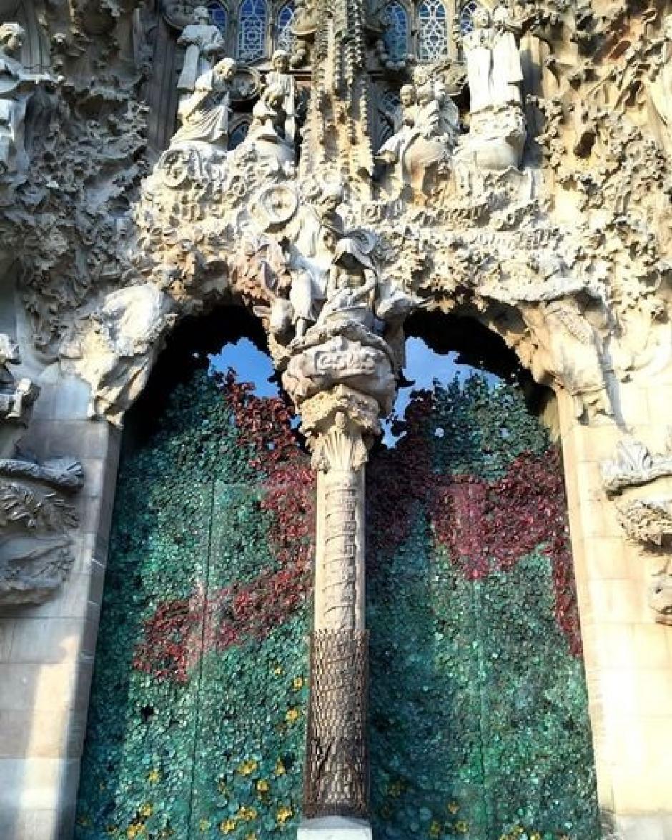 Fachada de la Natividad de la Sagrada Familia de Barcelona