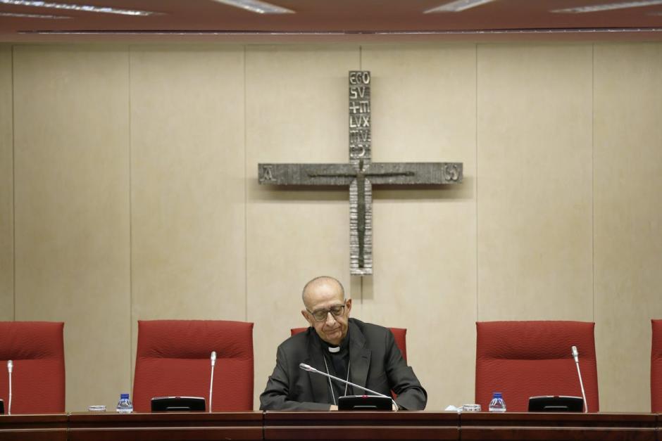 Juan José Omella en la Conferencia Episcopal Española
