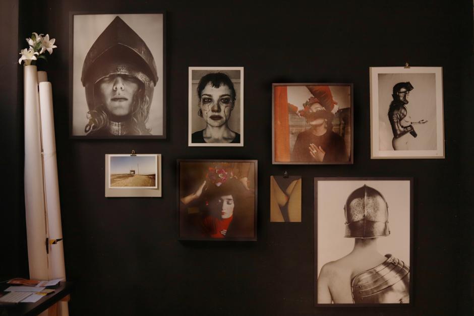 Algunas imágenes de los proyectos artísticos de Lupe